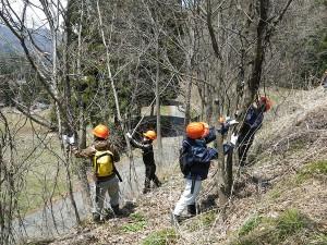 みんなの森づくり講座(山仕事体験講座)
